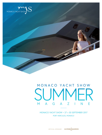 Monaco Yacht show summer