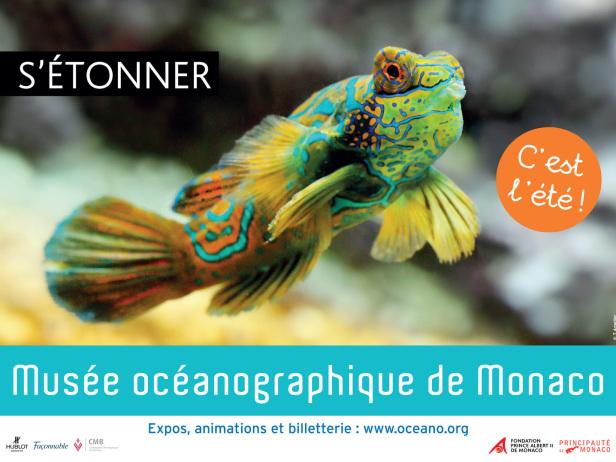 advertising Musée océanographique Monaco