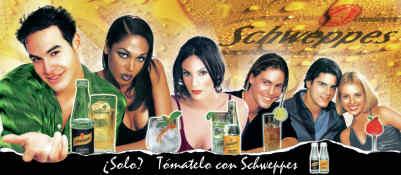 Schweppes advertising