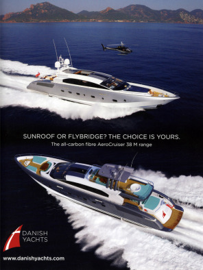 Danish Yachts advertising