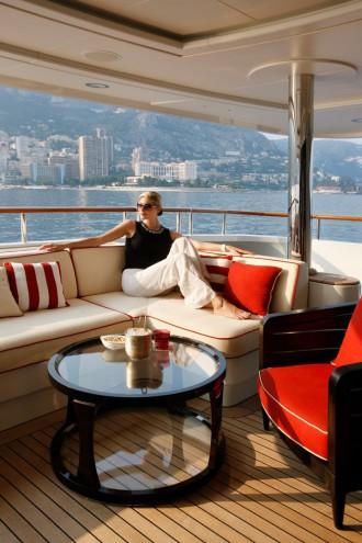 Publicité Yacht