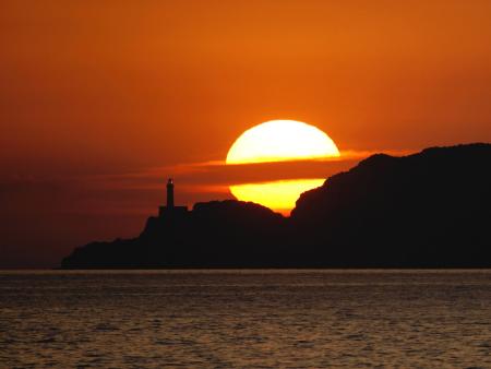 Photographie coucher de soleil